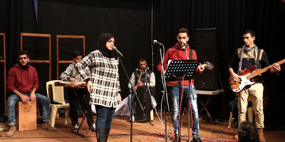 تجربة موسيقية جديدة من غزة