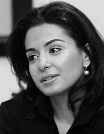 السياسيون العرب الأصغر سناً - نايلة تويني
