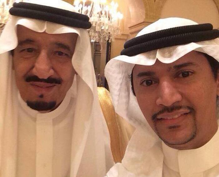 السياسيين العرب والسيلفي - الملك سلمان