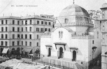 اليهود في الجزائر - تاريخ يهود الجزائر - معبد يهودي في الجزائر