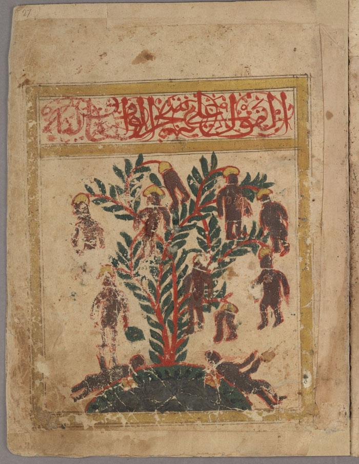 صورة الكون منذ ألف عام - صور قديمة للكون - شجرة