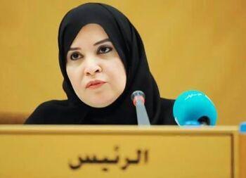 المجلس الوطني الاتحادي في الامارات - أمل قبيسي