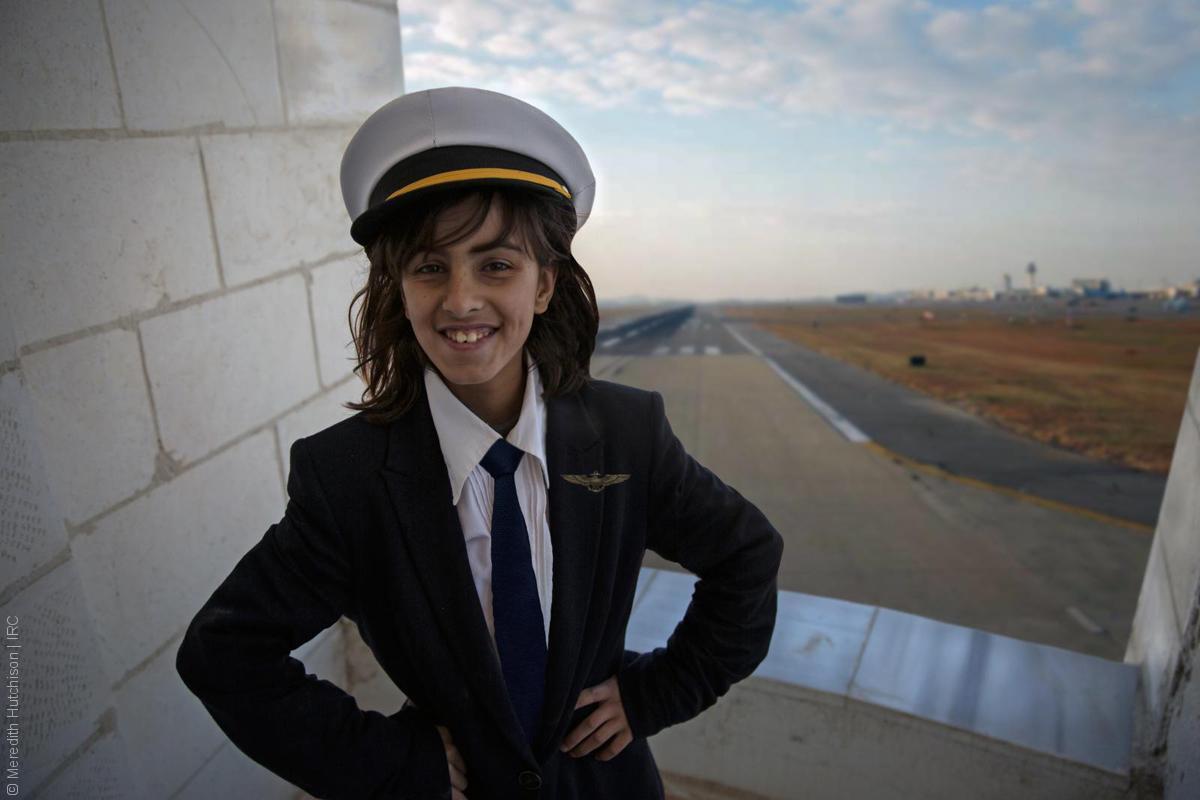 فتيات لاجئات - أماني
