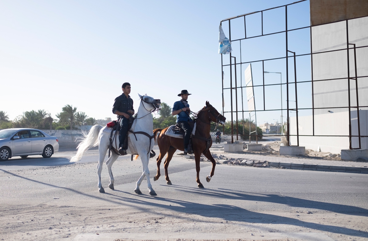 حسين الموسوي ومريم العرب - خيل