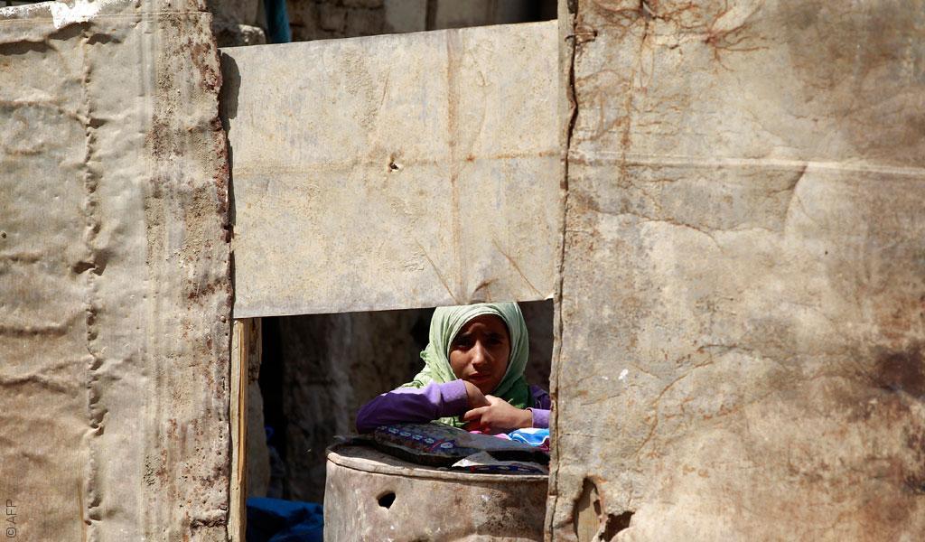خريطة النزوح الداخلي في اليمن