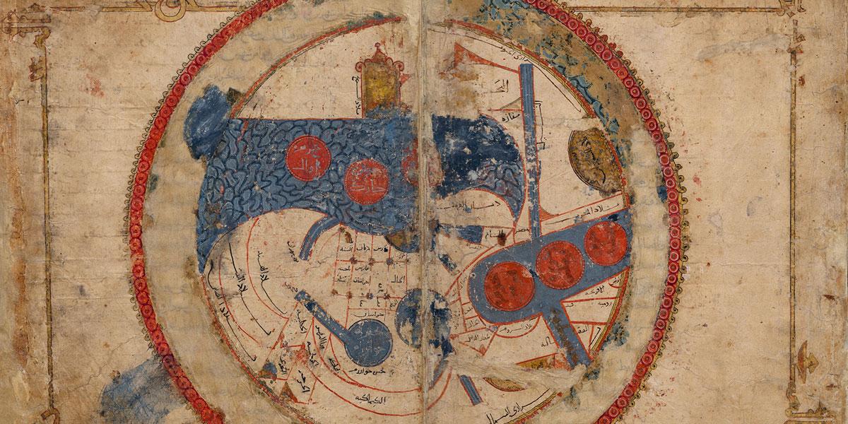 خرائط العالم الإسلامي في العصور الوسطى