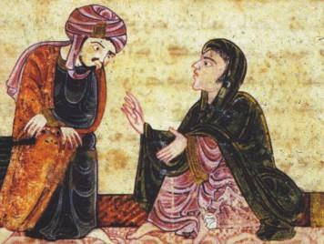 رياض وبياض، قصة حب دمشقية أندلسية من العصور الوسطى