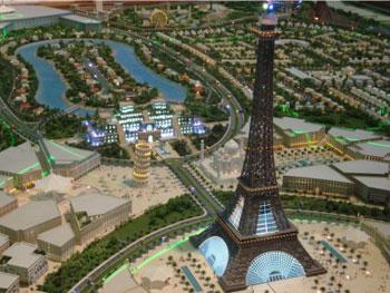 برج ايفل في دبي
