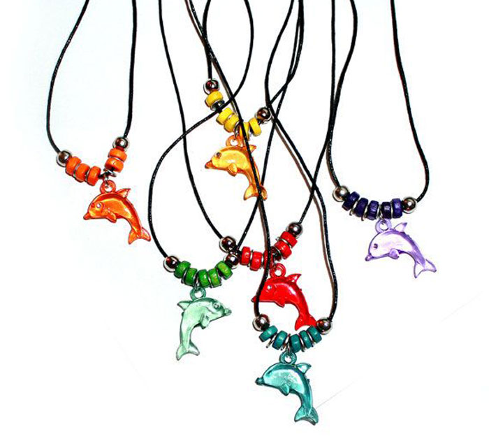 Dolphin-necklaces