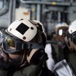 """نهار على متن حاملة الطائرات الأمريكية """"بونسي"""" في البحرين"""