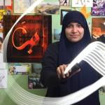 روعة الرسم بالخط العربي في الهواء
