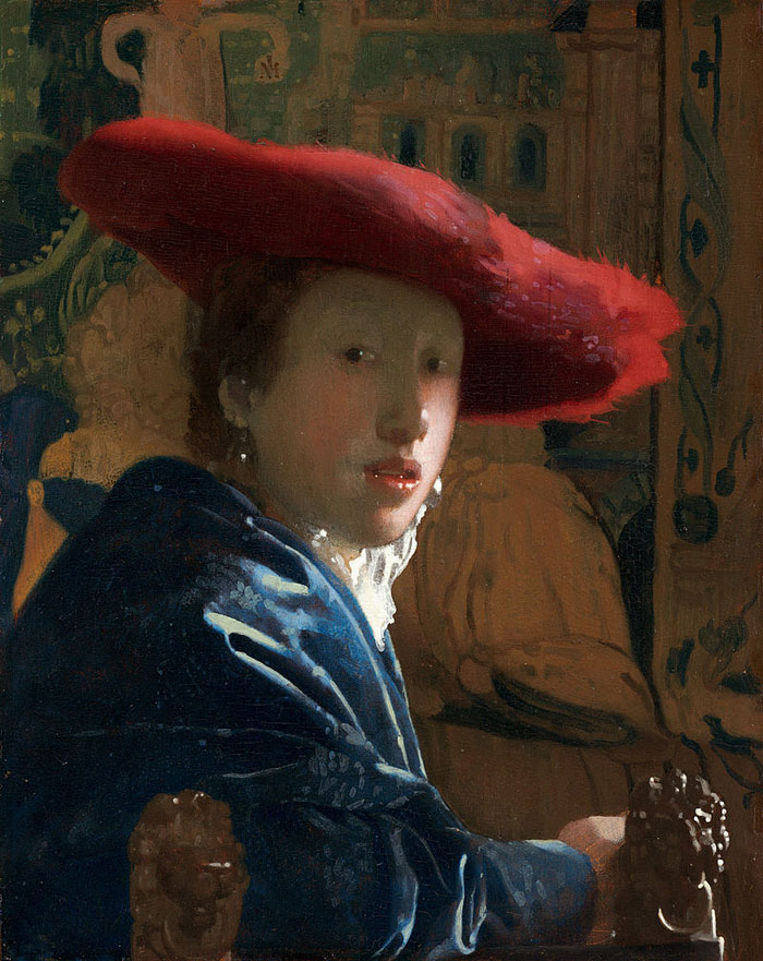 Vermeer_Girl_with_a_Red_Hat