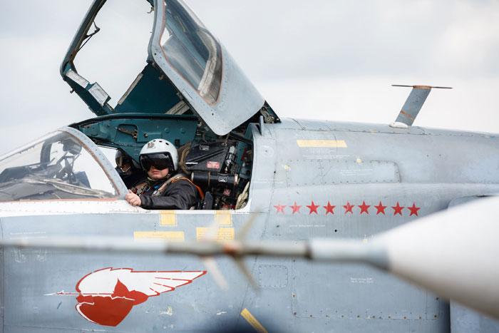 طائرة حربية روسية
