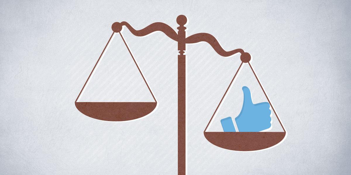 """بالوثائق: هل يُسمح للقاضي المصري بضغط زر """"لايك"""" على فيسبوك؟"""