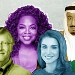 """قائمة أكثر الشخصيات """"إثارة للإعجاب"""" في نظر العرب"""