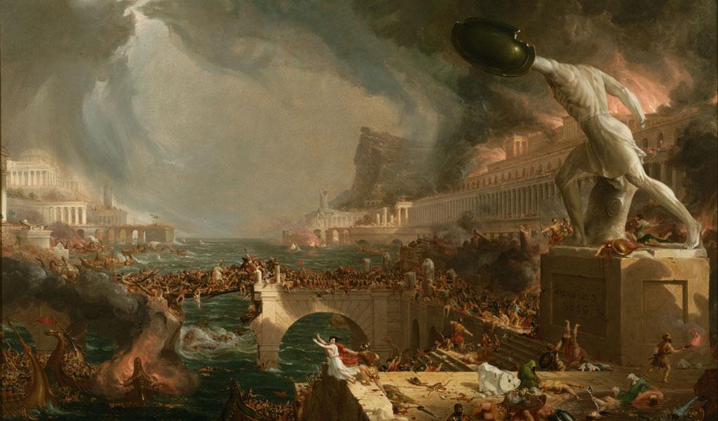 """هل هناك علاقة بين """"سقوط روما"""" وأزمة اللاجئين في أوروبا اليوم؟"""