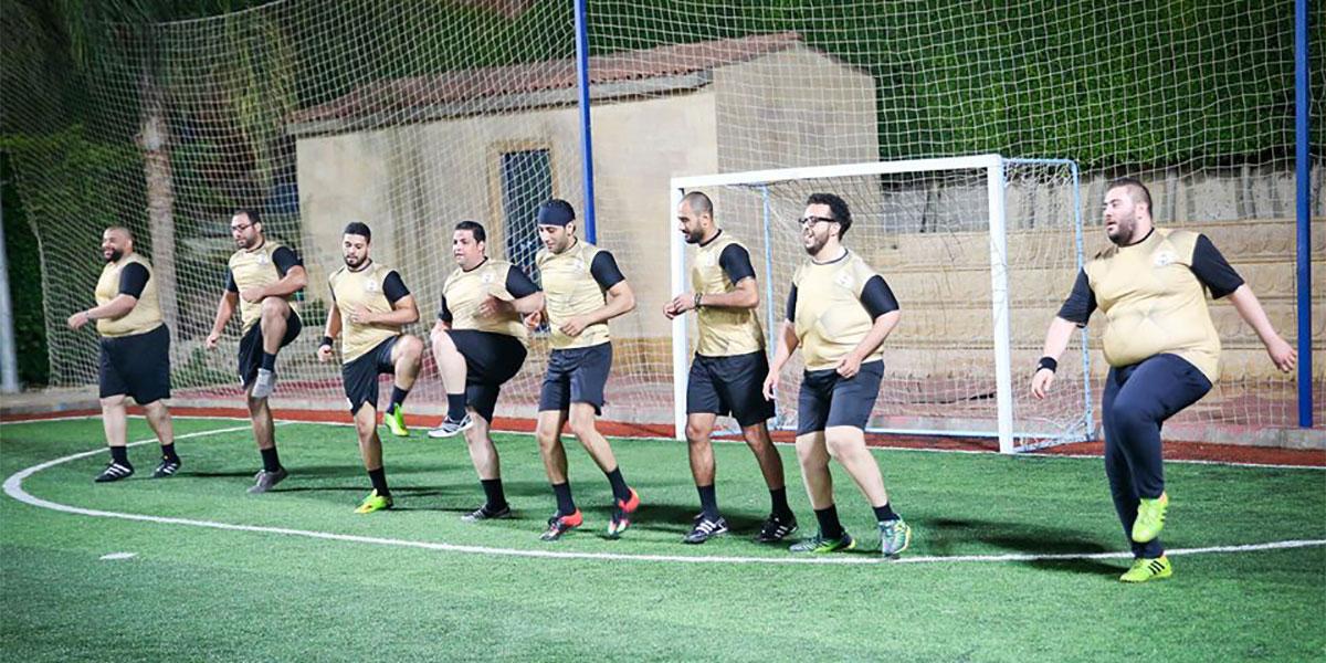 """""""فات يونايتد"""": متعة كرة القدم بالوزن الثقيل"""