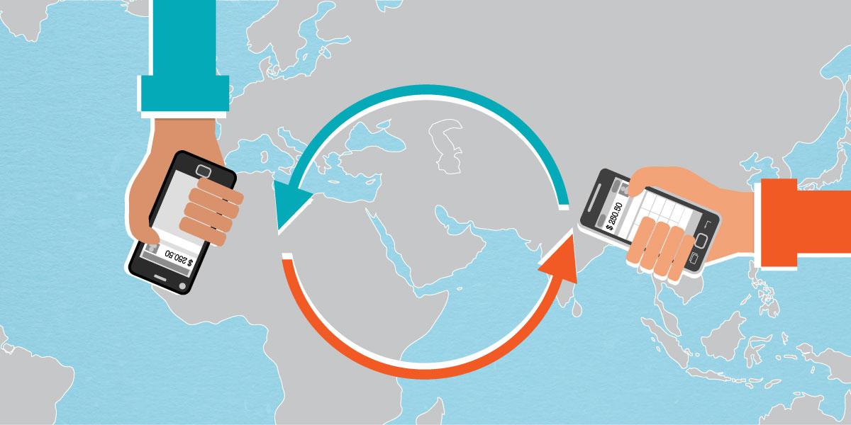 خريطة تحويلات المغتربين في العالم العربي