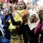 التشجيع النسائي... معركة نساء مصر في المدرجات