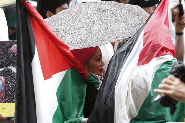 Palestinian-demonstration