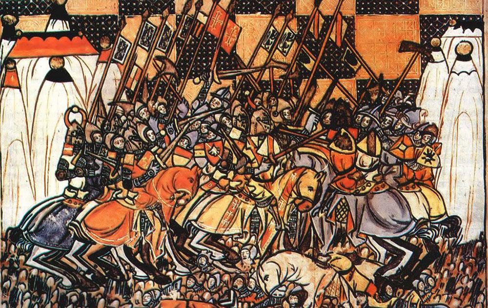 كيف سارت الحملات الصليبية على المشرق الإسلامي؟ Dorilea-1024