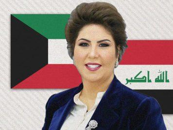 تُطلِق مشاريع وتلتقي بسياسيين... الكاتبة الكويتية فجر السعيد تثير الجدل في العراق