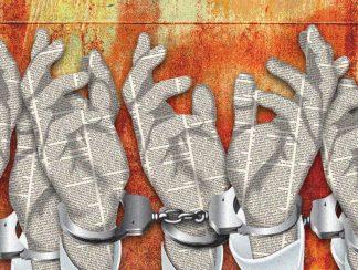 منظمة: 251 صحفياً محتجزين في العالم معظمهم بتهمة مناهضة الأنظمة