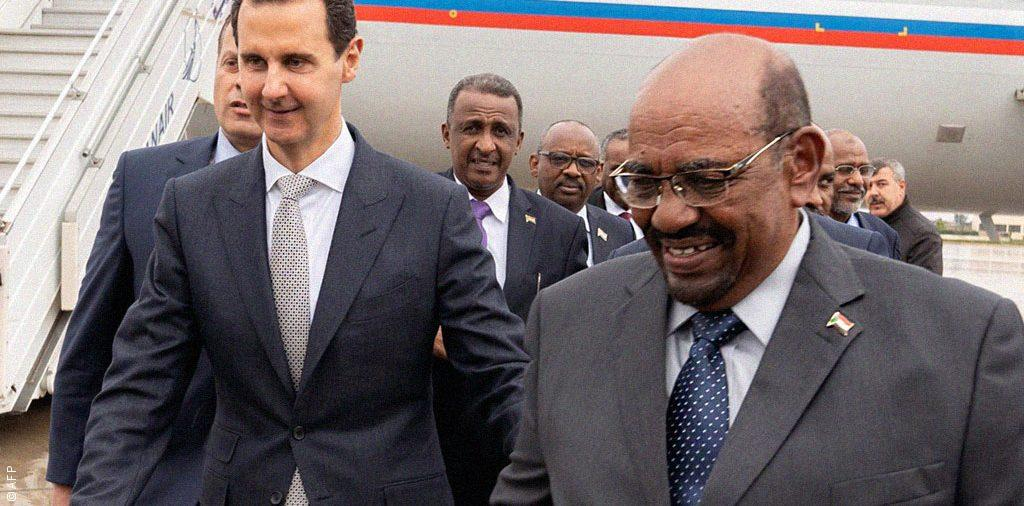 البشير يكسر عزلة الأسد