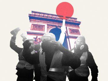 """""""باريس تحترق""""... إشاعة تحرق أصحاب السترات الصفراء"""