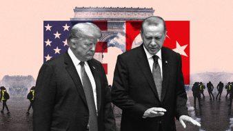 """السترات الصفراء: أردوغان """"قلق""""... ترامب يتحدّث عن يوم حزين... وماكرون صامت"""