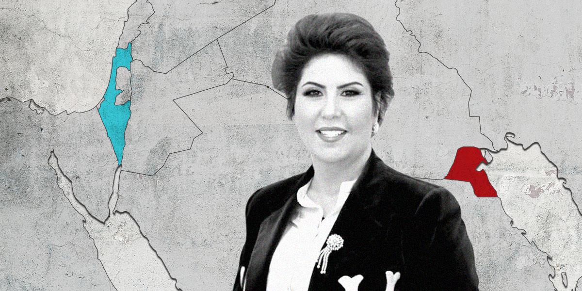 الكويتية فجر السعيد في مقابلة مع قناة إسرائيلية: نمد أيدينا بالسلام