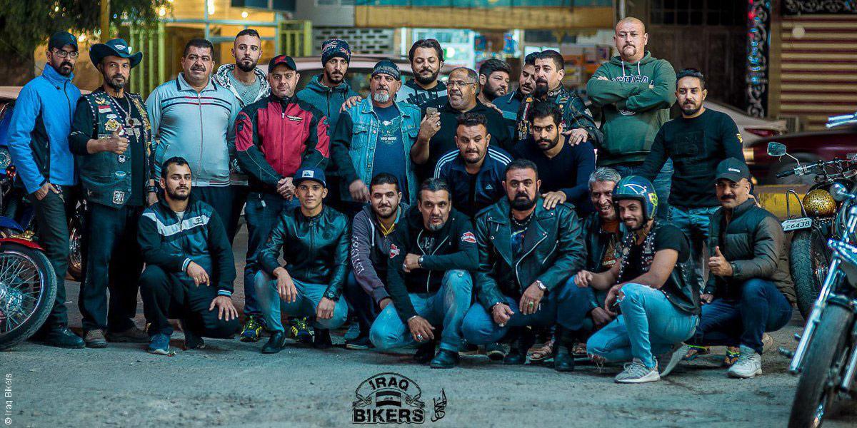 سائقو الدراجات النارية يسعون إلى توحيد العراق ونبذ الطائفية