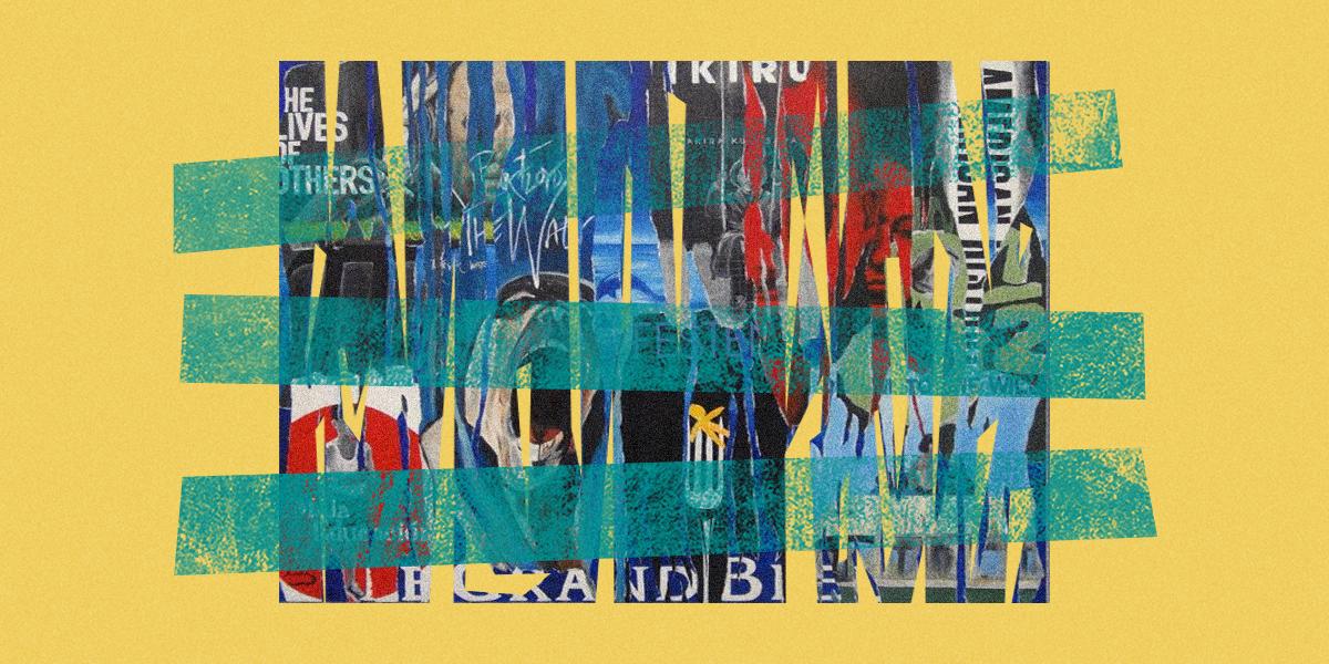 في معرض الفنانة ريما حداد: اللوحة بوسترات أفلام سينمائيّة