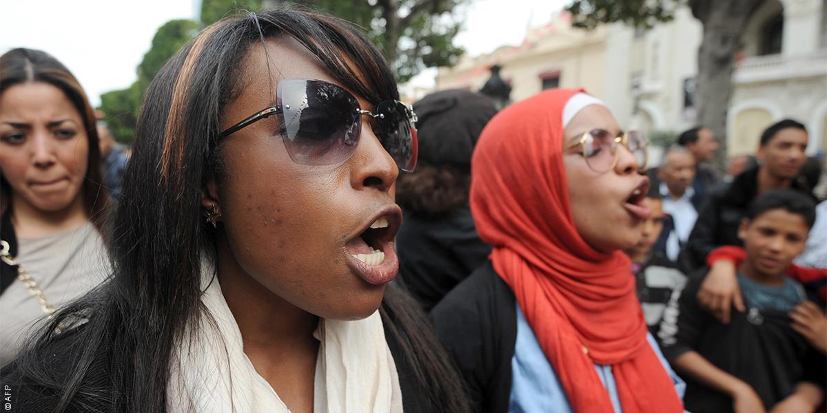 عن العنصريّة التي تظهر في تونس ضد البشرة السمراء