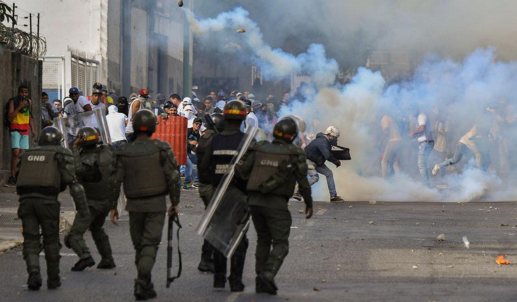 فلسطين تُدين التدخل الأجنبي في شأن فنزويلا