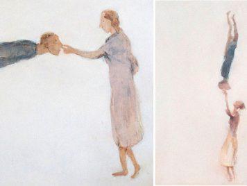 وقتٌ مستعارٌ في الغربة.. نظرة إلى لوحات ناصر حسين