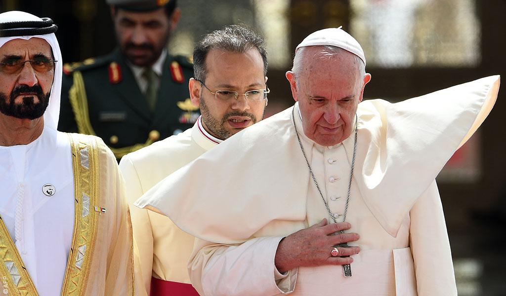 زيارة البابا فرنسيس للإمارات: أُمنيات وصلوات كثيرة