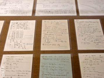مخطوطات بقلم آينشتاين تُعرض لأول مرة في القدس المحتلة