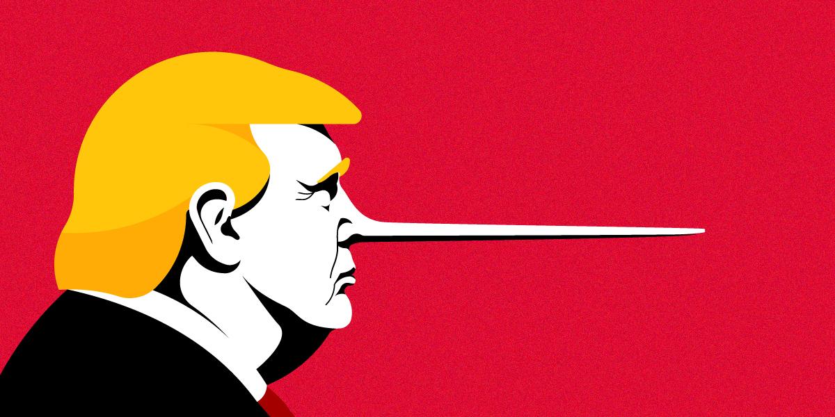 واشنطن بوست: ترامب كذب 9014 مرة منذ أن أصبح رئيساً لأمريكا
